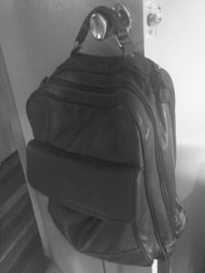 bag on door