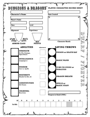 Landscape Character Sheet